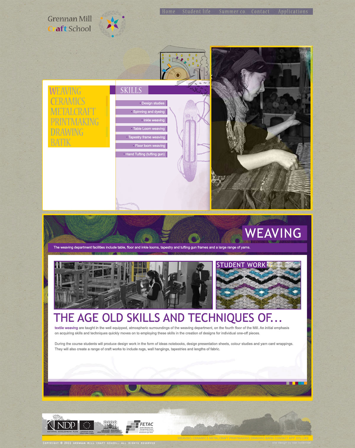 portfolio-web-GM-weaving-page